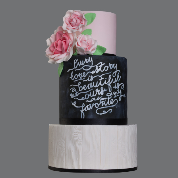 Cakes That Reflect The Brideu0027s Personality