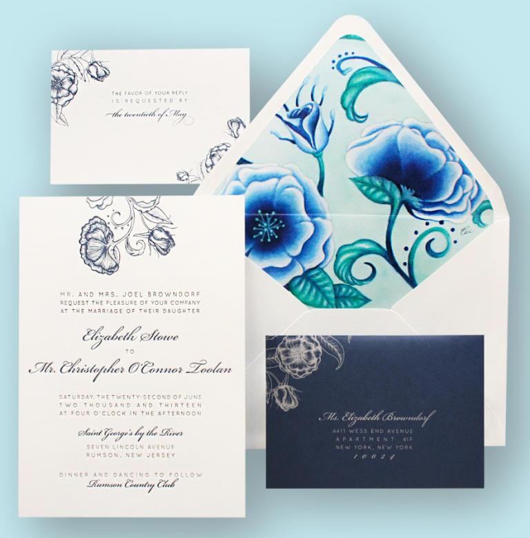 Charlotte NC Wedding Invitation Trends 2015 | Charlotte Weddings
